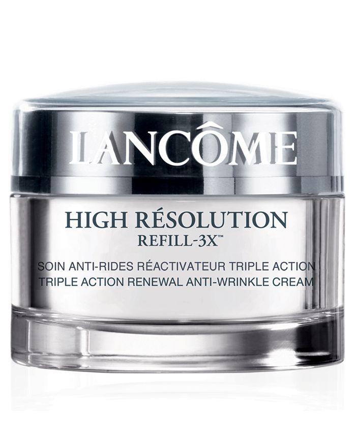 Lancôme - High Resolution Refill-3x Triple Action Renewal Anti-Wrinkle Cream, 1.7 oz
