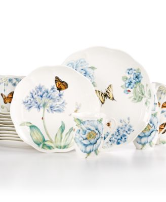 Lenox Butterfly Meadow Blue 18 Pc. Set Service for 6, Only at Macy's