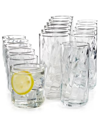 Luminarc Riviera 18 Piece Glassware Set