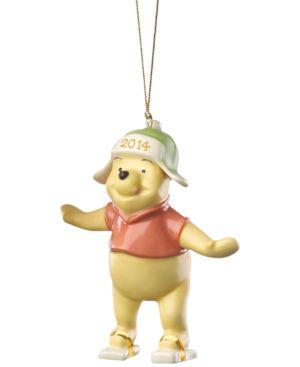 Lenox 2014 Playful Pooh Annual Christmas Ornament