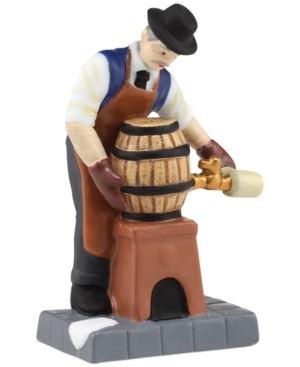 Department 56 Christmas in the City Tapping the Keg Collectible Figurine