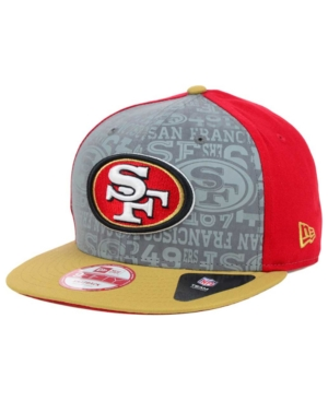 New Era San Francisco 49ers Nfl Draft 2014 9FIFTY Snapback Cap