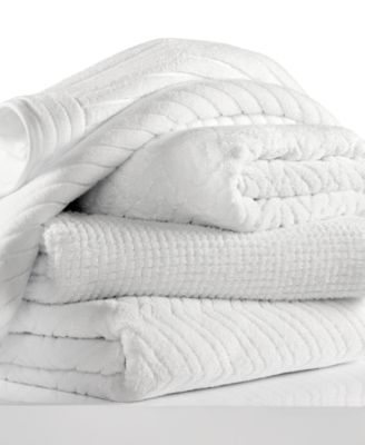 "CLOSEOUT! Hotel Collection White Shop 20"" x 30"" Hand Towel, Only at Macy's"