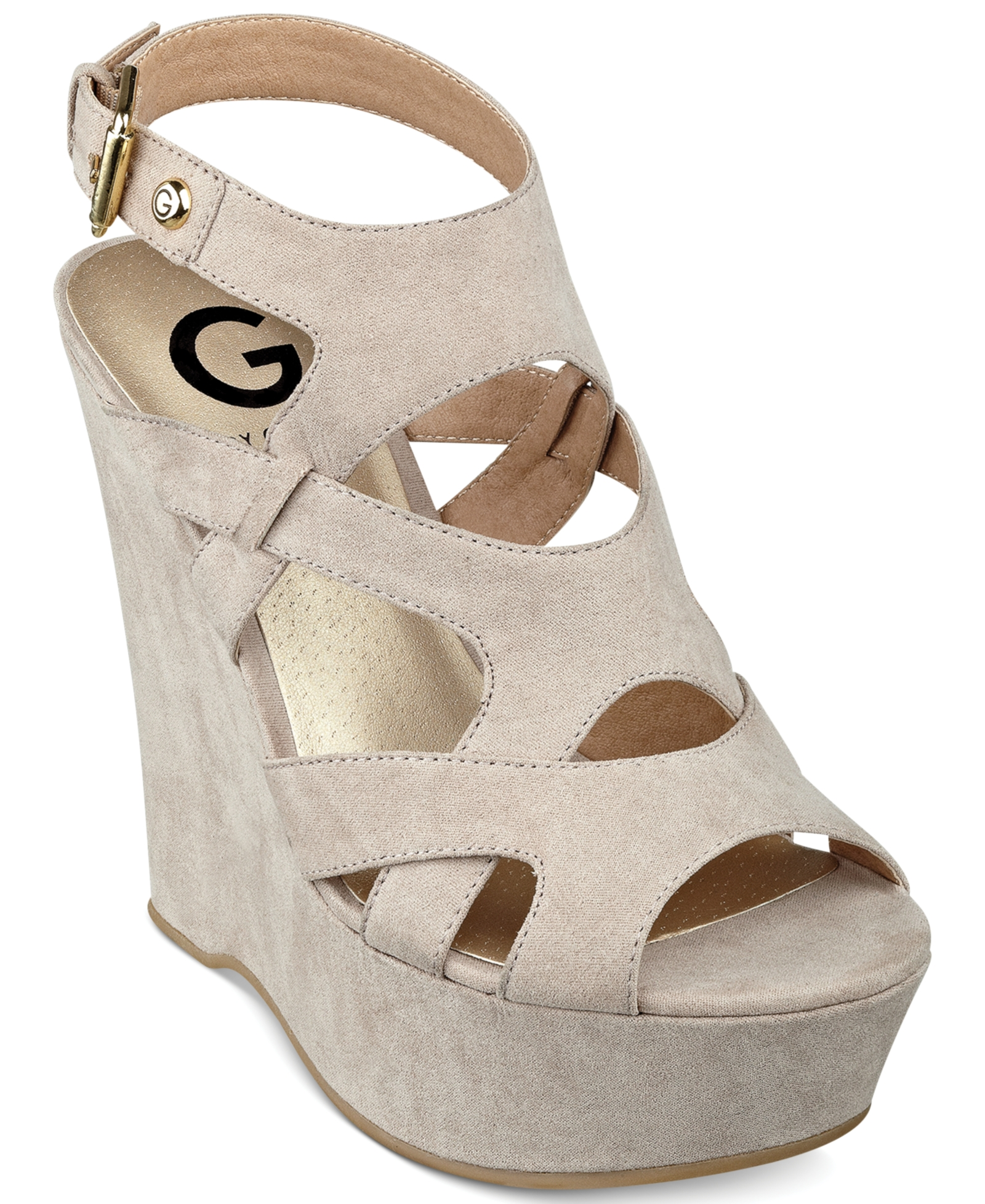 7f790dd93 G by Guess Women's Hizza Platform Wedge Sandals Women's Shoes | G By Guess  | Shoe.Net