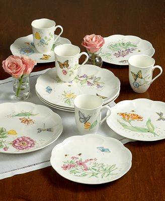 Lenox 'Butterfly Meadow' 18-Piece Dinnerware Set