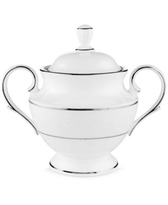 Lenox Dinnerware, Opal Innocence Sugar Bowl