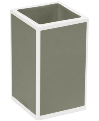 CLOSEOUT! Kassatex Bath Accessories, Gray Soho Tumbler