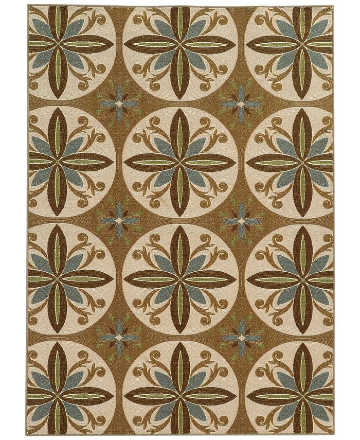 "Oriental Weavers - Sycamore SYM5863 Bloom 2'2"" x 3'9"" Area Rugs"