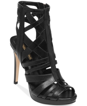 BCBGeneration Garlen Platform Caged Booties Women's Shoes