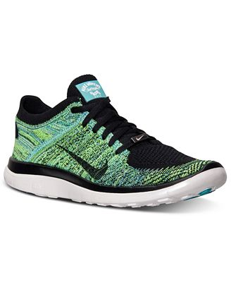 Nike Men 27s Free Flyknit 4.0 Running Sneakers From Finish Line Nikes Discount Clearance