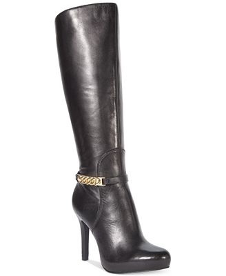 Luxury Nine West In The House Dress Boots, $199, Macyscom Want To Run Your Errands In Style? These Taupe Suede Boots Have A Coolgirl Vibe To Them, Thanks To Their Studded Detailing, And Are Supercomfy Kelsi Dagger Womens Rover
