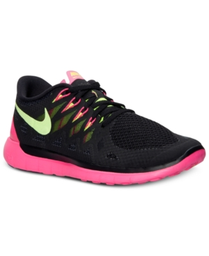 9b6cc26abea4 ... Pink UPC 886060721792 product image for Nike Women s Free 5.0 2014  Running Sneakers from Finish Line ...