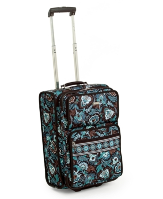 "Vera Bradley ""Java Blue"" Super Lite Carry-On, 19"""