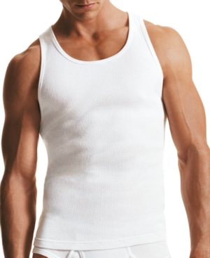 Calvin Klein Classic Ribbed Tank, 3-pack M9070