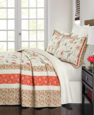 Martha Stewart Collection Strawberry Meadow King Bedspread Bedding