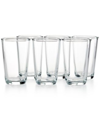 Martha Stewart Collection Everyday Entertaining Set of 6 Highball Glasses