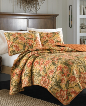 Tommy Bahama Home Tropical Lily Quilt Collection