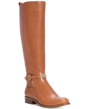 Michael Michael Kors Arley Riding Boots - Macys Exclusive Womens Shoes