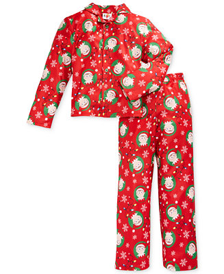 elf on the shelf boys 39 or little boys 39 2 piece pajamas. Black Bedroom Furniture Sets. Home Design Ideas