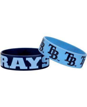 Tampa Bay Rays Bulk Bandz Bracelets Navy Blue/Light Blue 1720206