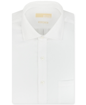Michael Michael Kors Big and Tall Non-Iron Twill Solid Dress Shirt