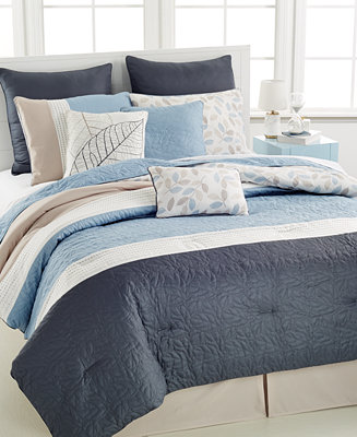 Closeout Brinley 10 Pc California King Comforter Set