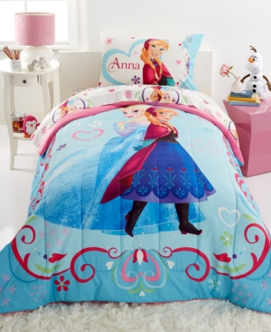 Disney Frozen Springtime Floral Twin/Full Comforter Bedding