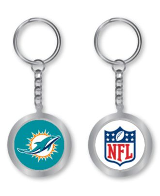 Aminco Miami Dolphins Spinning Keychain