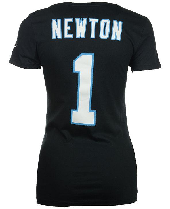 Nike Women's Cam Newton Carolina Panthers Player Pride T-Shirt