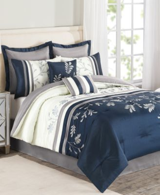 CLOSEOUT! Camden 8 Piece Queen Comforter Set