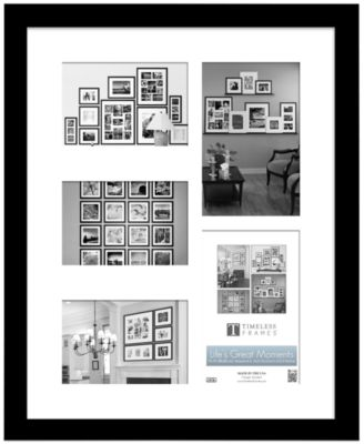 "Timeless Frames Picture Frame, Life's Great Moments 11"" x 14"" Wall Collage"
