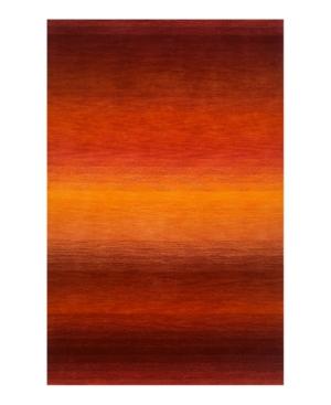"""Liora Manné """"Ombre"""" 9620/18 Stripe Sunrise Area Rug, 7' 10"""" x 9' 10"""""""