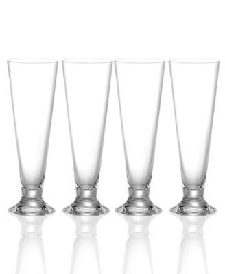 "Marquis by Waterford ""Vintage"" Set of 4 Pilsner Glasses"
