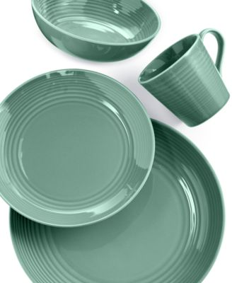 Gordon Ramsay by Royal Doulton Maze Teal 4-Piece Place Setting