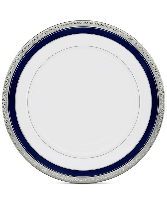 "Noritake - ""Crestwood Cobalt Platinum"" Dinner Plate"