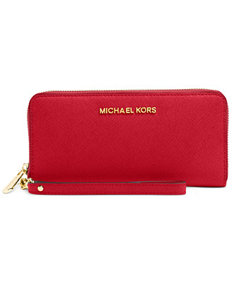 MICHAEL Michael Kors Jet Set Travel Tech Continental Wallet