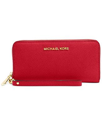 MICHAEL Michael Kors Jet Set Travel Tech Continental Wallet