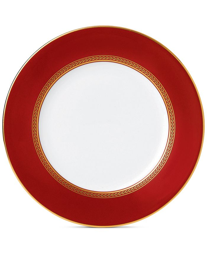 Wedgwood - Renaissance Red Salad Plate