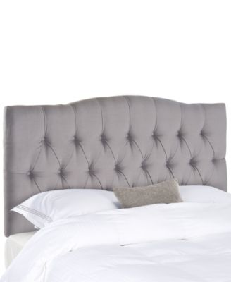 Jorie Upholstered Tufted Queen Headboard, Direct Ship