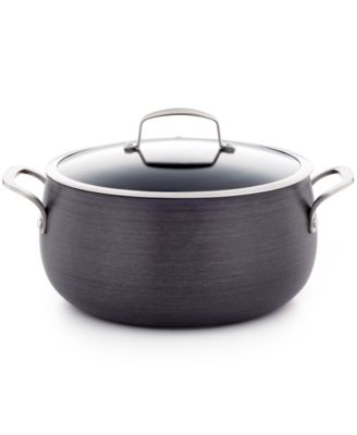 Belgique Hard Anodized 7.5 Qt. Covered Dutch Oven, Only at Macy's