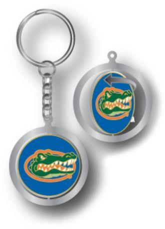 Aminco Florida Gators Spinning Keychain