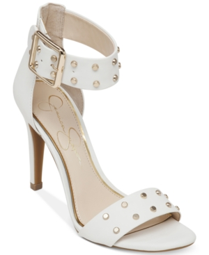 86d60dda044 ... UPC 886923832207 product image for Jessica Simpson Elonna Two-Piece  Studded Sandals Women s Shoes
