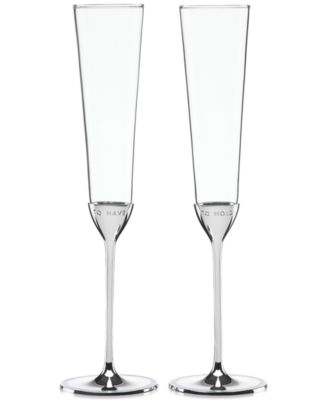 kate spade new york Take the Cake Toasting Flutes