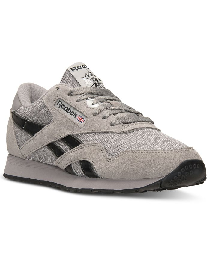 Reebok - Men's Classic Nylon Casual Sneakers from Finish Line