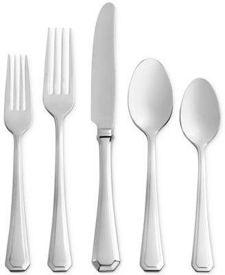 Monique Lhuillier Melrose 45-Pc. Flatware Set, Service for 8