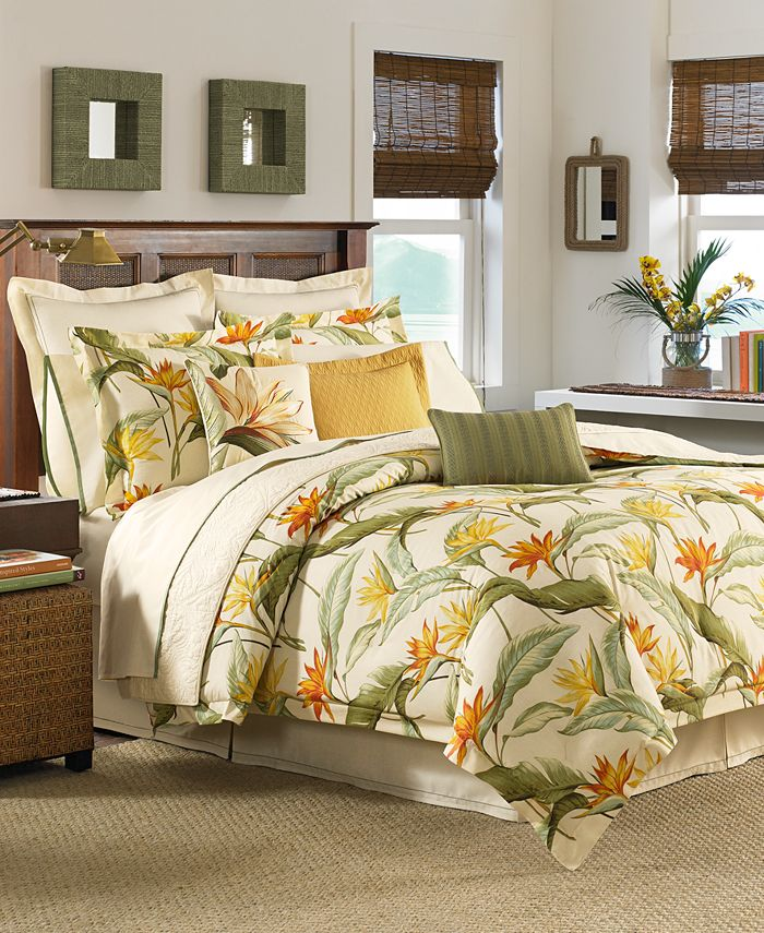 Tommy Bahama Home - Birds of Paradise Comforter Sets