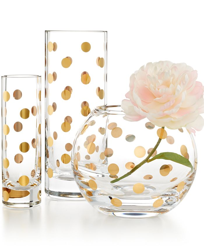 Kate Spade New York Pearl Place Vase Collection Reviews Vases Home Decor Macy S