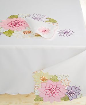 """Closeout! Homewear Delilah 60"""" x 120"""" Tablecloth"""