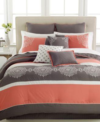 CLOSEOUT! Parson 10-Pc. California King Comforter Set