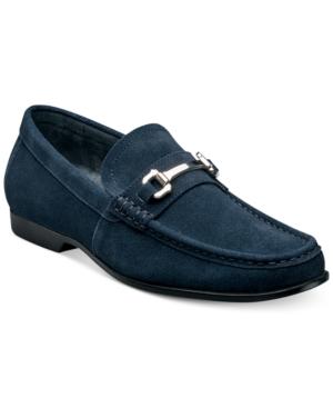 1960s Mens Shoes- Retro, Mod, Vintage Inspired Stacy Adams Ellson Suede Bit Loafer Mens Shoes $85.00 AT vintagedancer.com